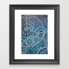 mosaic Framed Art Print