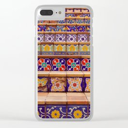 Colors of San Antonio Clear iPhone Case