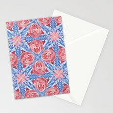 Pink Panther Pattern Stationery Cards