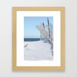 Storm Fencing 2015 Framed Art Print