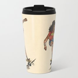 Wonder Skater (In Comic Colors!) Travel Mug