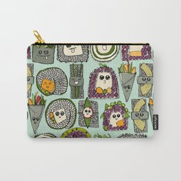 veggie sushi mint Carry-All Pouch