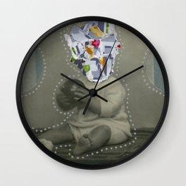 8bit Face Wall Clock