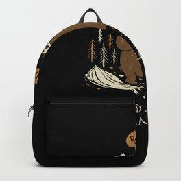 worlds worst camper Backpack