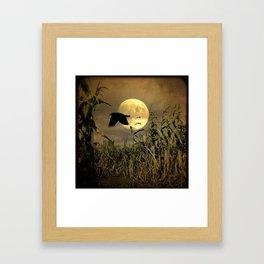 Havest Moon Framed Art Print