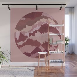 TOPOGRAPHY 007 Wall Mural