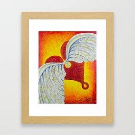 Love is Taking Flight Framed Art Print
