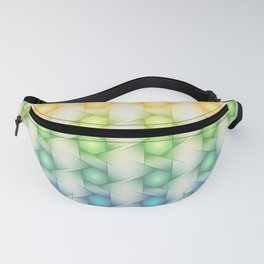Colorful Polygon Pattern Fanny Pack