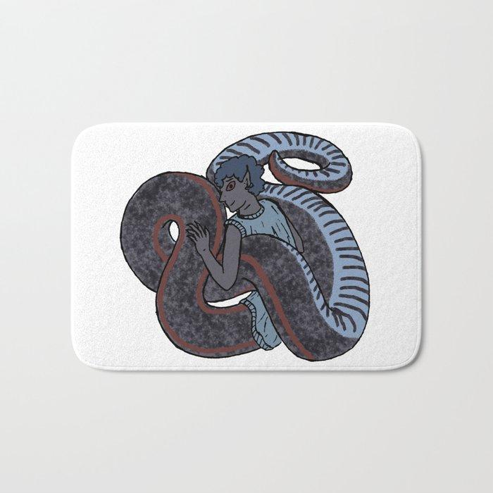 Sharp-tailed Snake-Boy Bath Mat