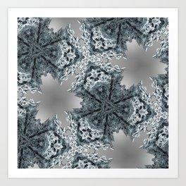 fractal triagon Art Print