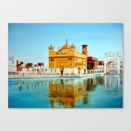 The Golden Temple Canvas Print