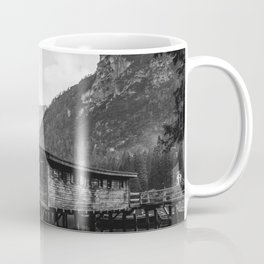 House on Water (Black and White) Coffee Mug