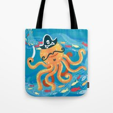 OctoPirate Tote Bag