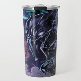 Black Panther: Wakandan Warrior Travel Mug