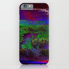 66-84-01 (Earth Night Glitch) iPhone 6s Slim Case