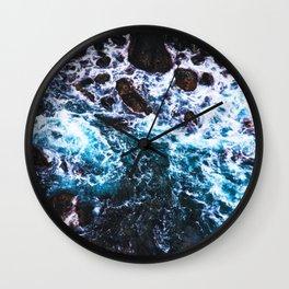 Japan - 'Blue Stream' Wall Clock