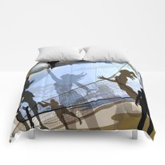 Anyone For Volleyball? Comforters