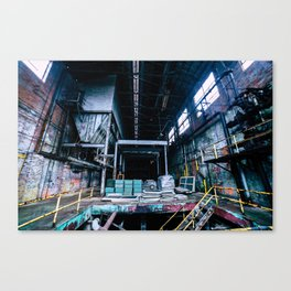Abandoned Asylum I Canvas Print