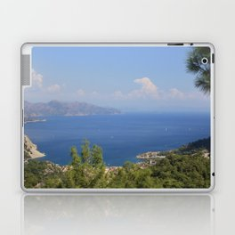 The Blue Bay of Turunc Laptop & iPad Skin
