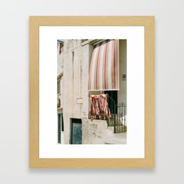 Wind Blows Framed Art Print