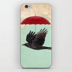 Raven Cover iPhone Skin