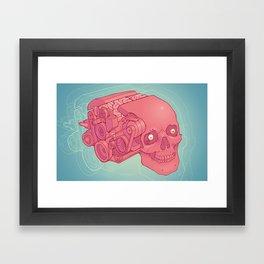 An Unquieted Mind Framed Art Print