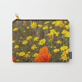 Patches of Gold Carry-All Pouch