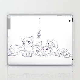 Cat's Laptop & iPad Skin