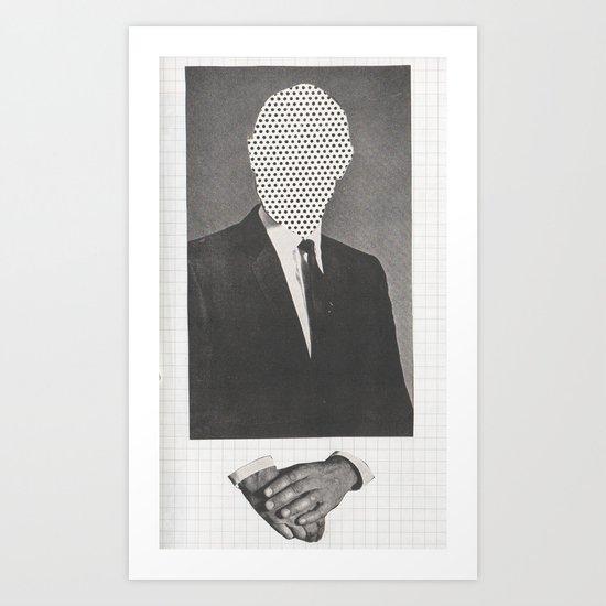 corporate identity Art Print