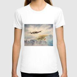 Avro Lancaster Aircraft T-shirt