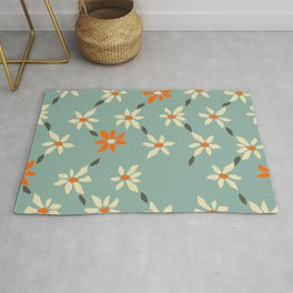 Daily pattern: Retro Flower No.11 Rug