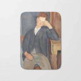 The Young Apprentice, Amedeo Modigliani Bath Mat