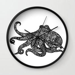 Complex Octopus Wall Clock