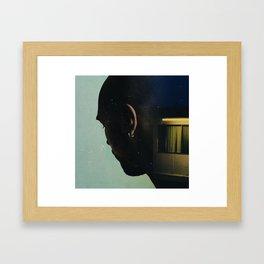 les chemins Framed Art Print