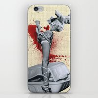 medicine iPhone & iPod Skins featuring Bad medicine by Oscar Varona