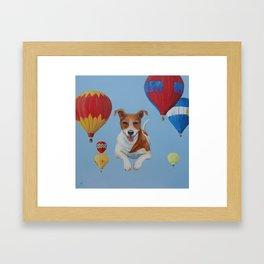 Sky Dog Framed Art Print