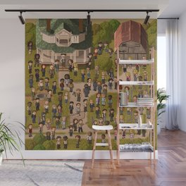 Super Walking Dead: Farm Wall Mural