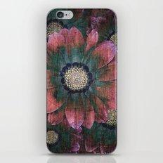 hippie flowers iPhone & iPod Skin