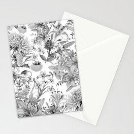 FLORAL GARDEN 4 Stationery Cards