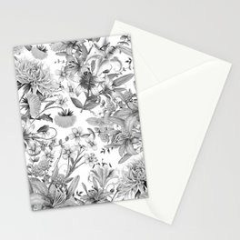 FLORAL GARDEN 4 Stationery Cards