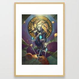 The Dreamteller of Dejavu Framed Art Print