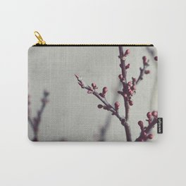 Plum Branches Three Carry-All Pouch
