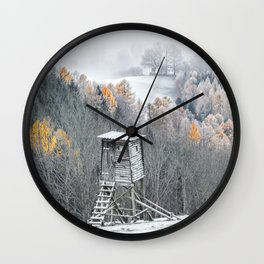 Tree Stand Wall Clock