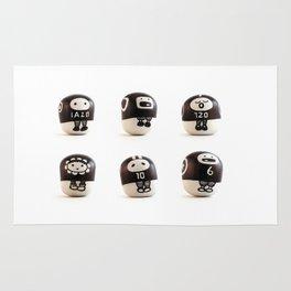 stoneheads 001 Rug