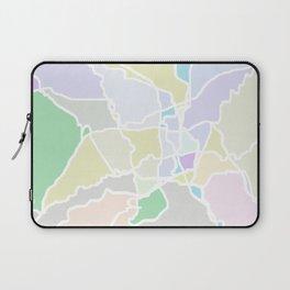 Pathways abstract art Laptop Sleeve