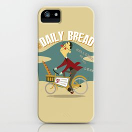 His Daily Bread iPhone Case