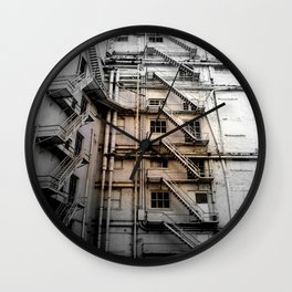 The stair venture Wall Clock