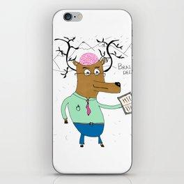 Brain Deer iPhone Skin
