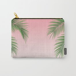 Palm Tree Leaves Carry-All Pouch