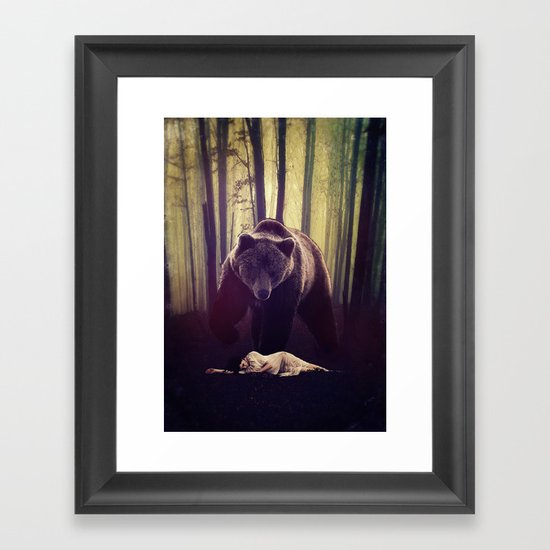 Someone's watching over me Framed Art Print